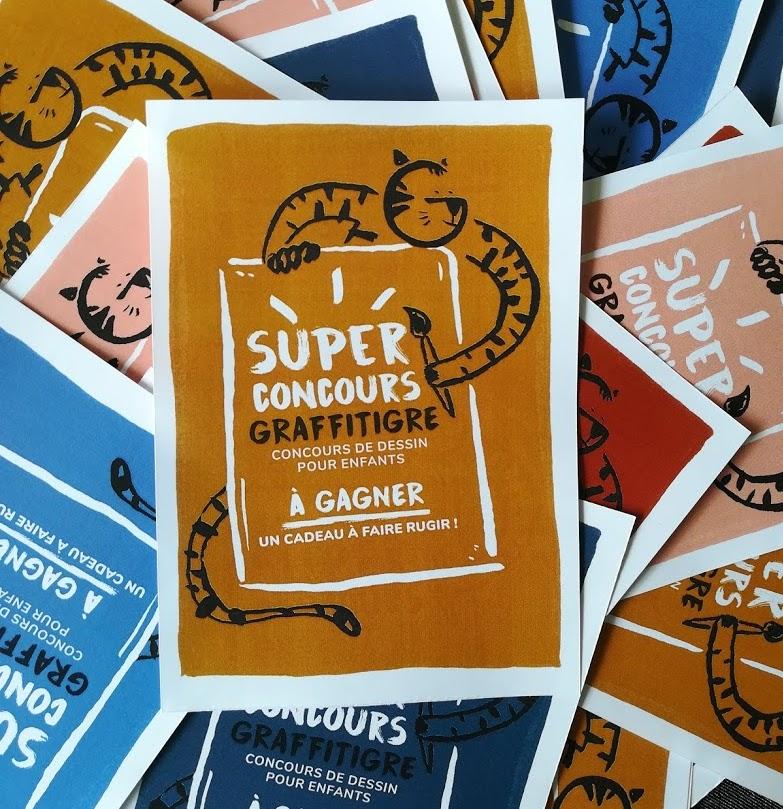 Super Concours Graffitigre Ton Plus Beau Tigre Graffitigre