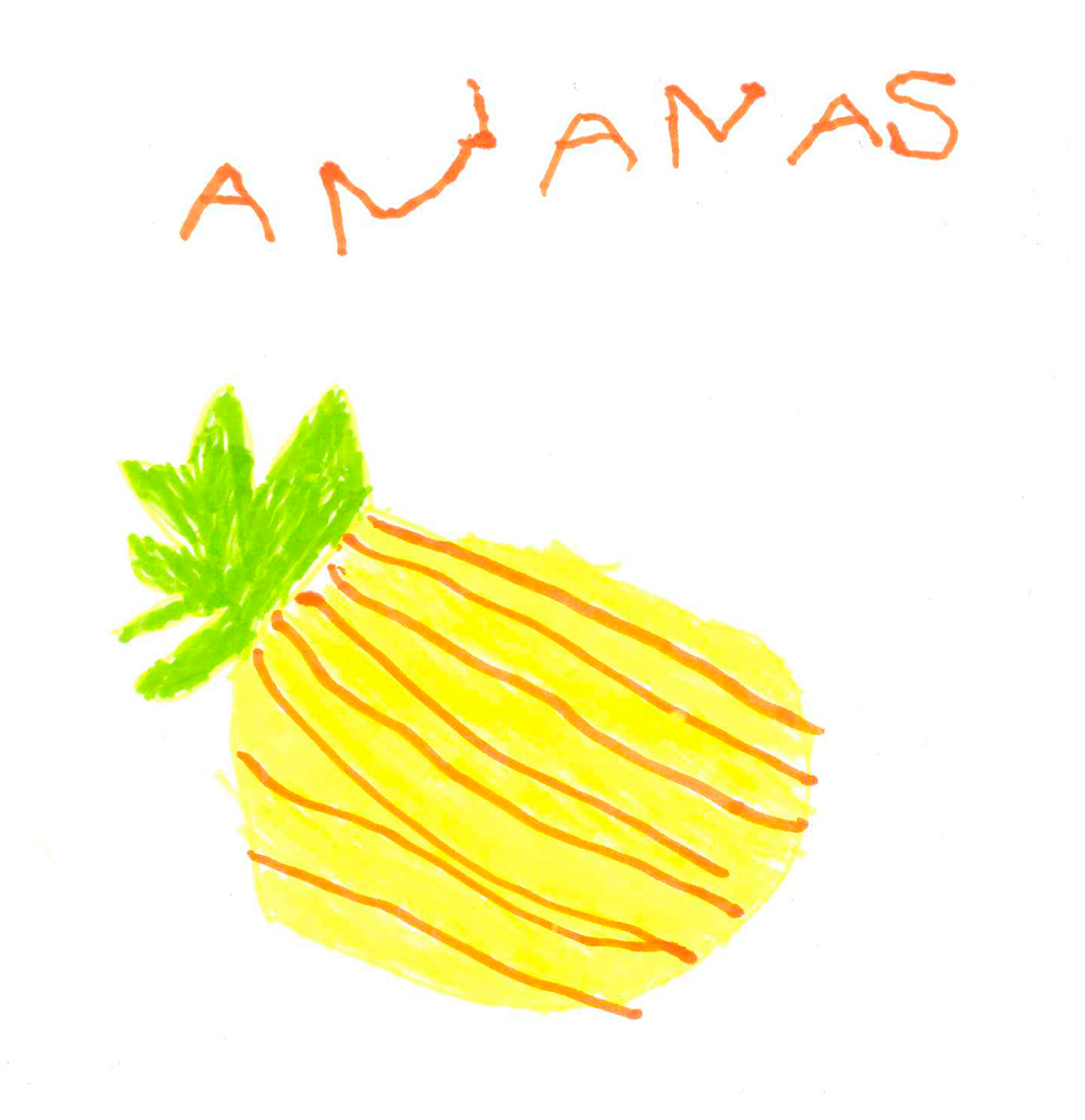 L Ananas De Sam G B 5 Ans Graffitigre