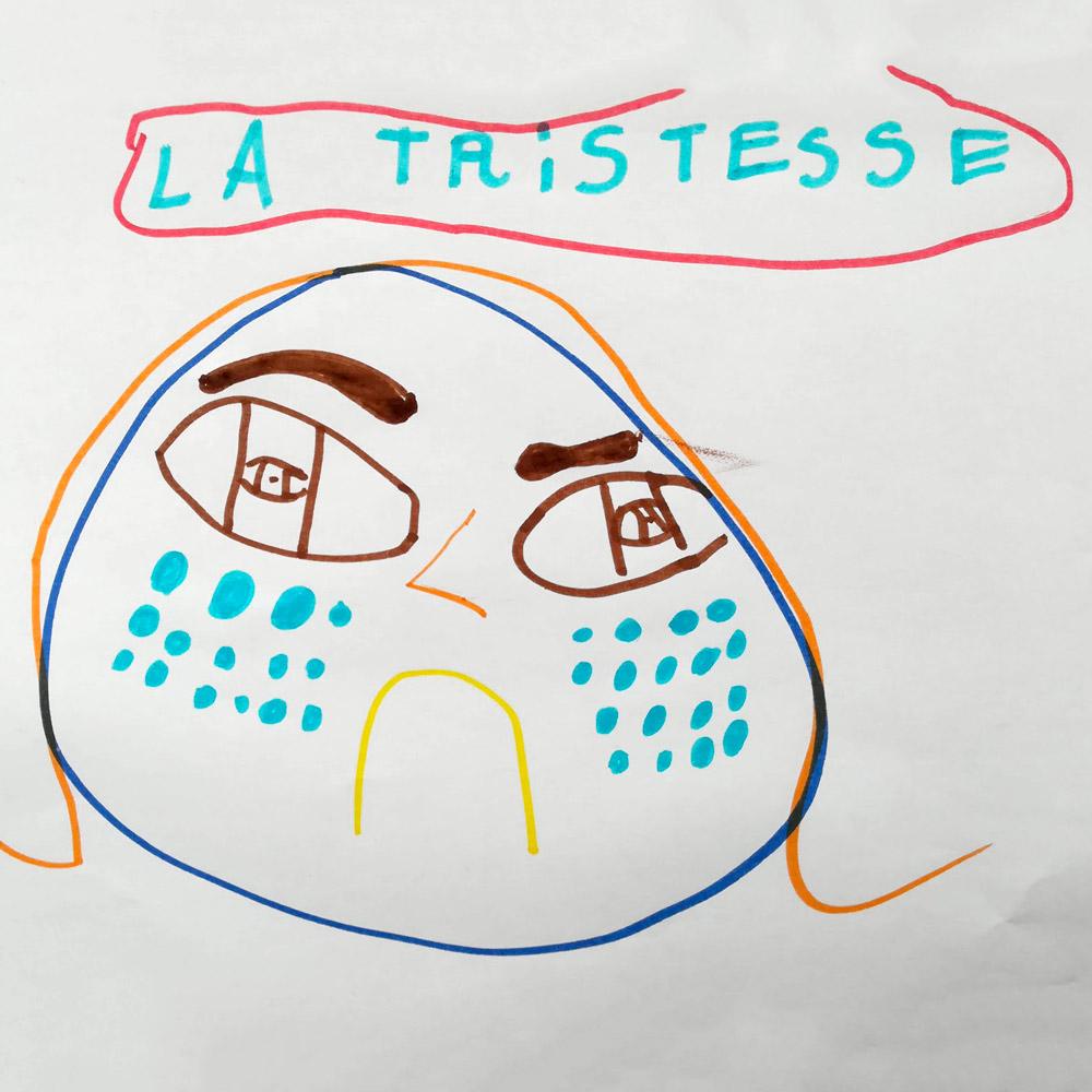 La Tristesse Danouck M 6 Ans Graffitigre